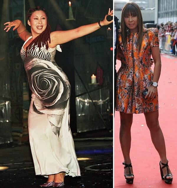 Анита Цой похудела: фото до и после