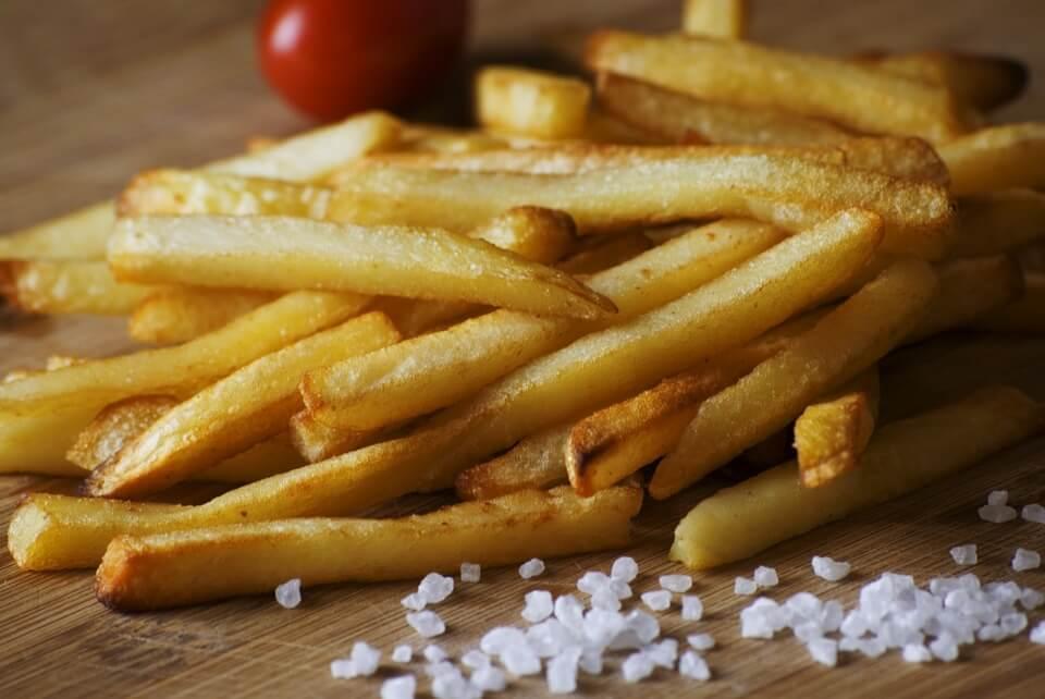 рецепт картошки фри без масла