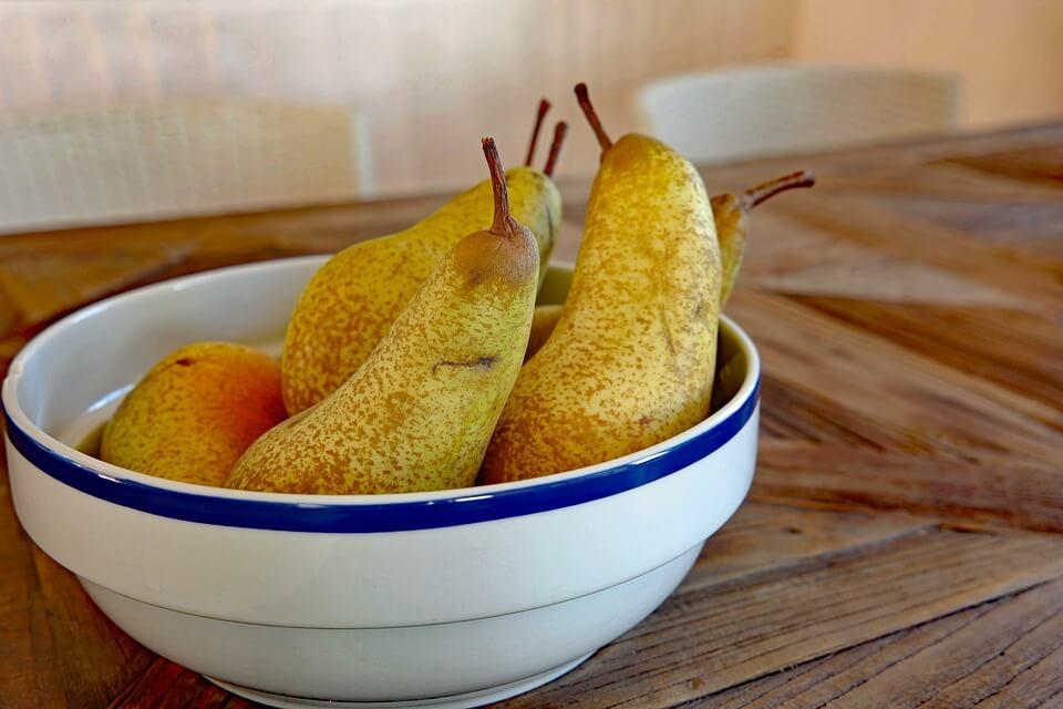 диетический пирог с грушей