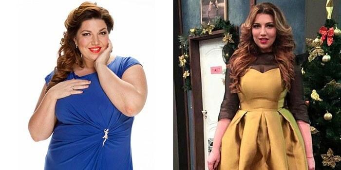 скулкина похудела фото до и после