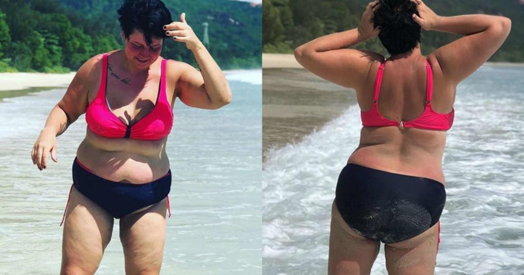 черно до похудения