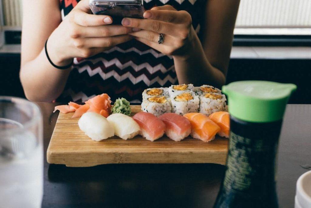 суши роллы сахар