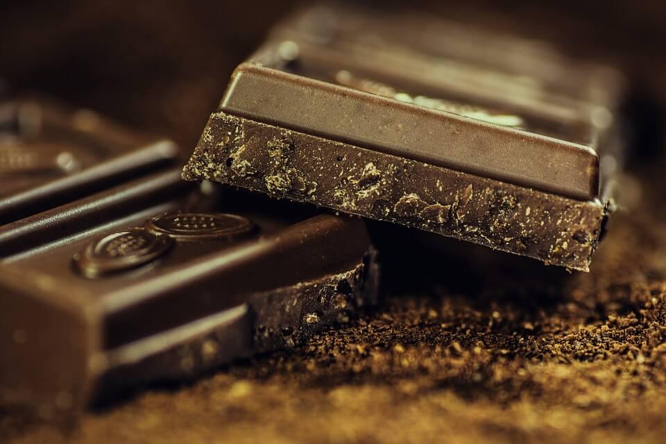 темный горький шоколад