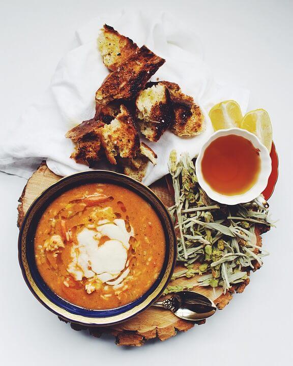 крем-суп калорийность