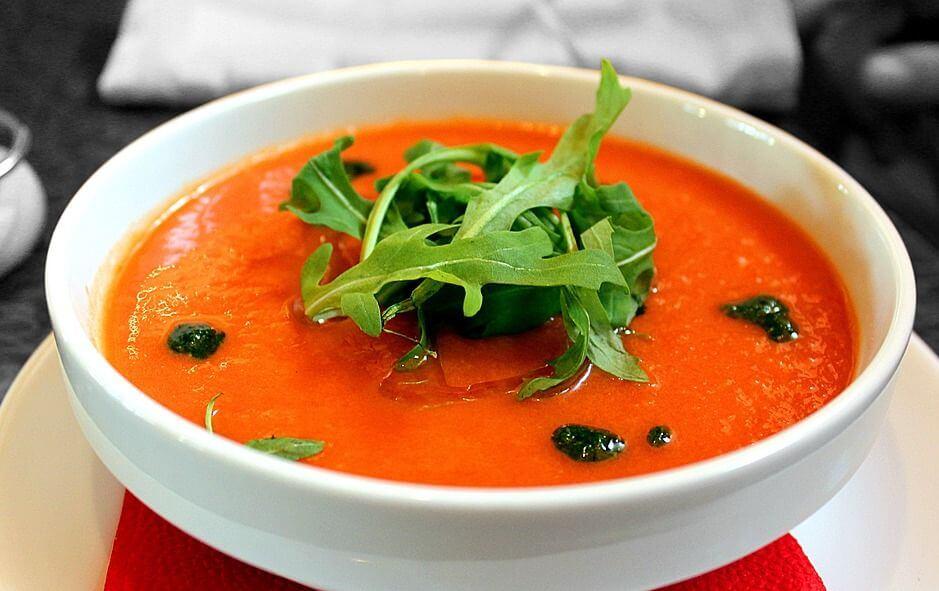 холодный томатный суп рецепт