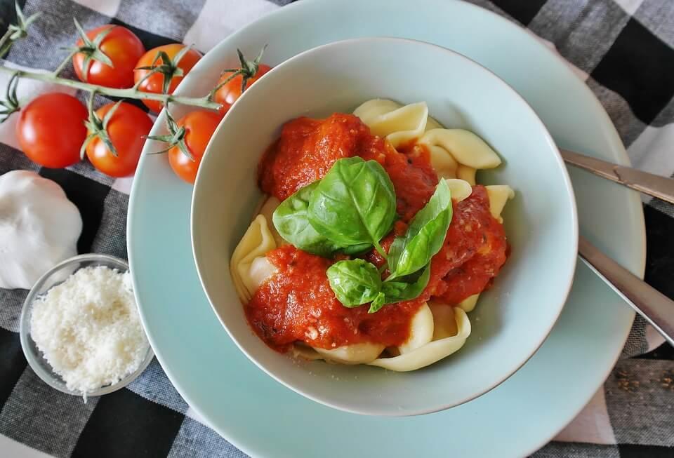 макароны с соусом калорийность