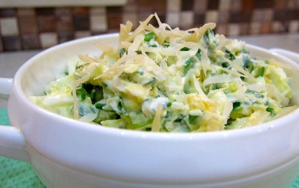 белковый салат для похудения