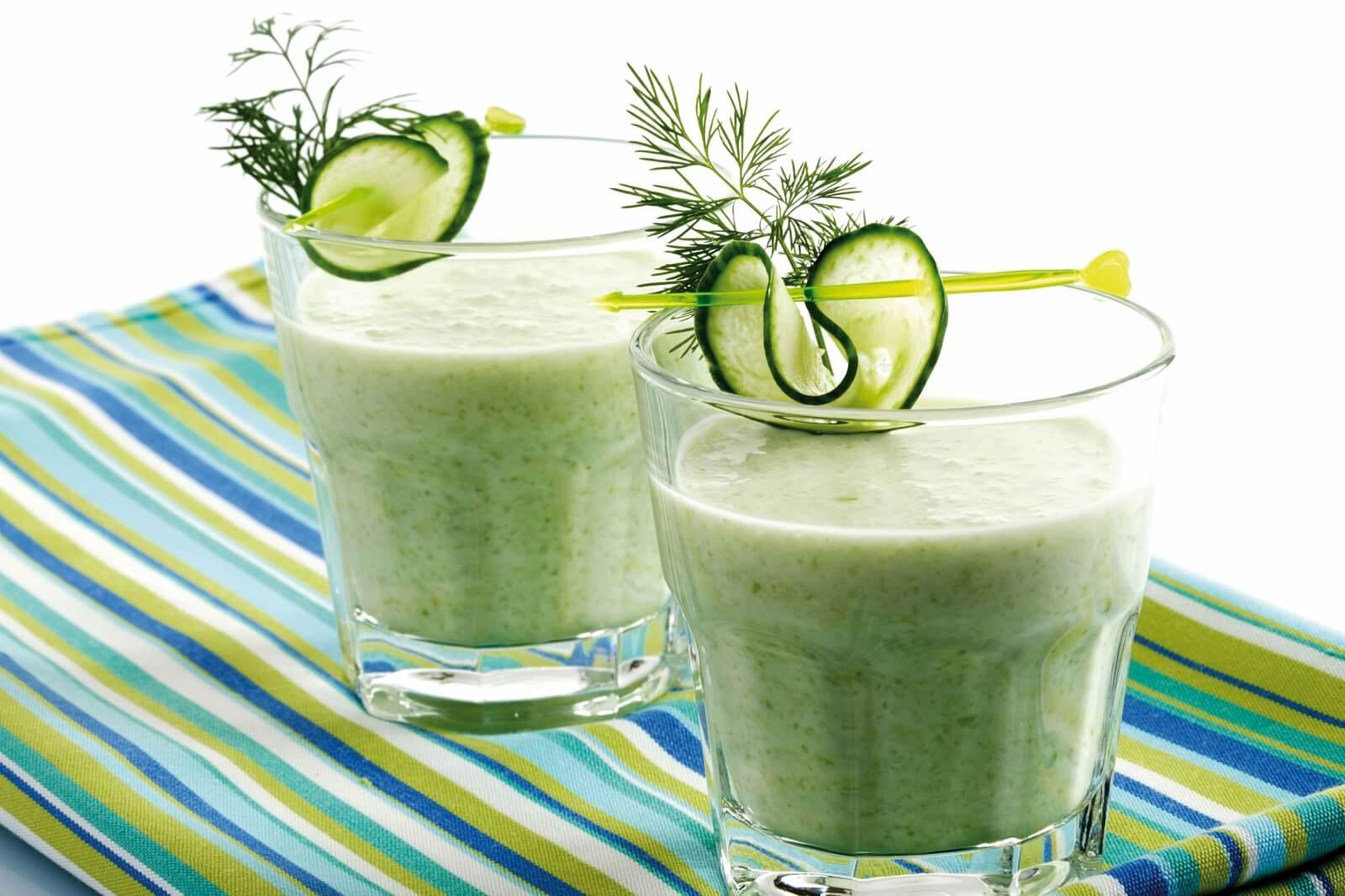 Огуречный напиток для снижения веса