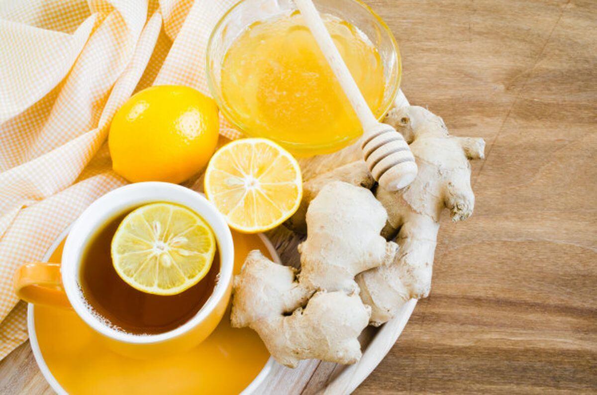 имбирно лимонная смесь