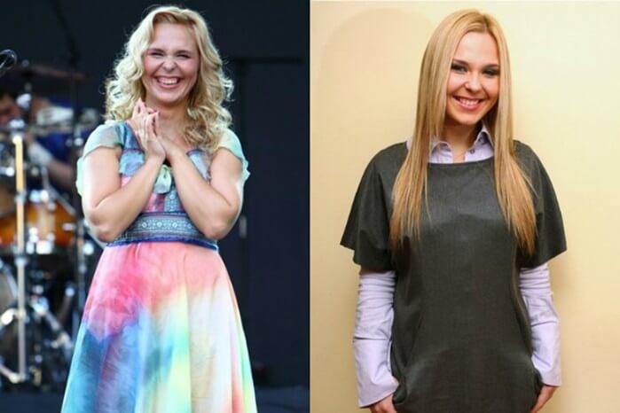 пелагея похудела до и после