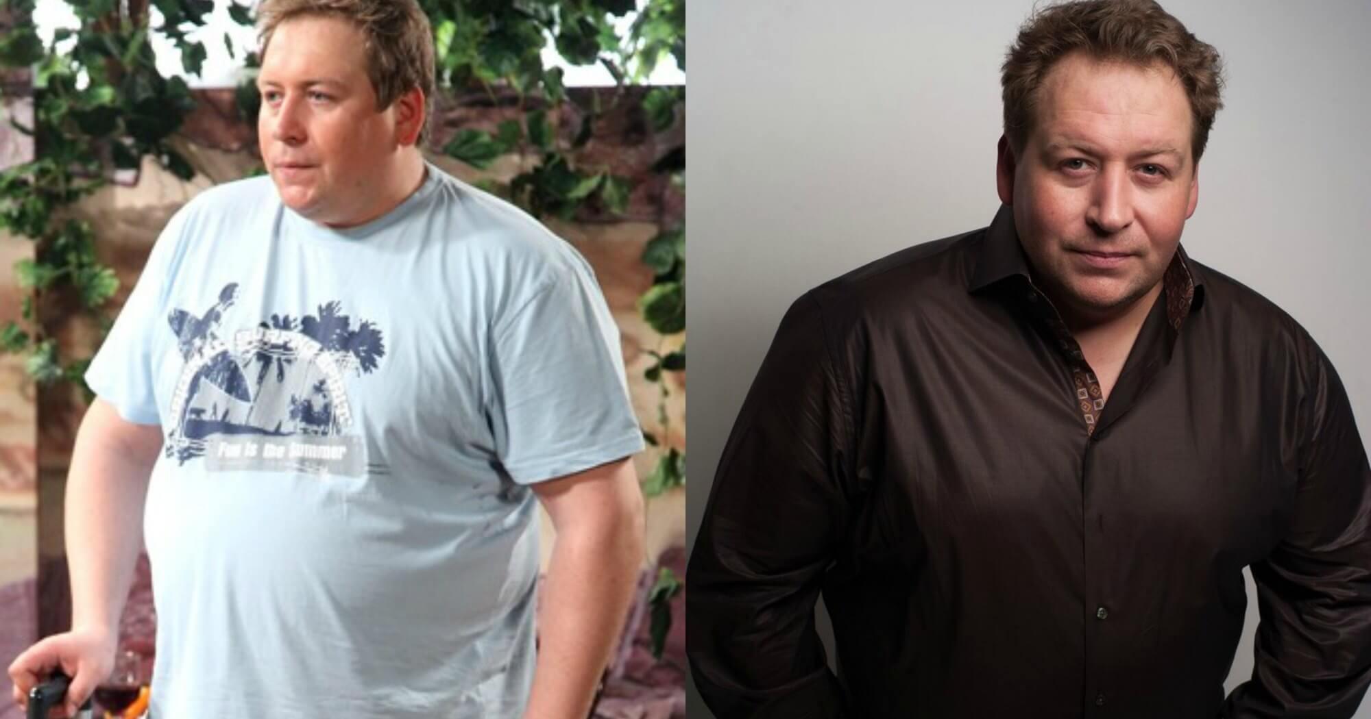 похудевший станислав дужников