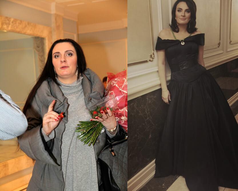 ваенга до и после похудения