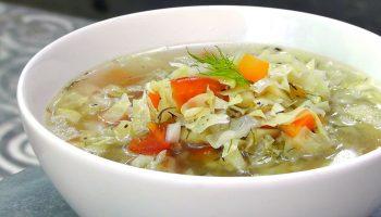 Капустный суп для похудения— всего 29 ккал на 100 граммов