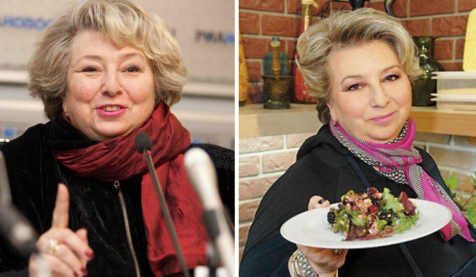татьяна тарасова похудела фото до и после