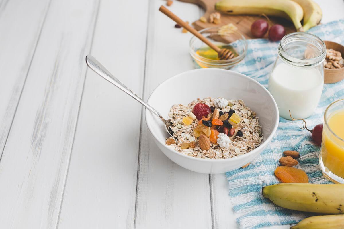 завтрак скраб с овсянкой