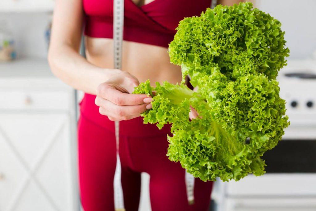 зеленая диета меню
