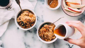Похудение на домашней граноле: рецепт с бананами и орехами