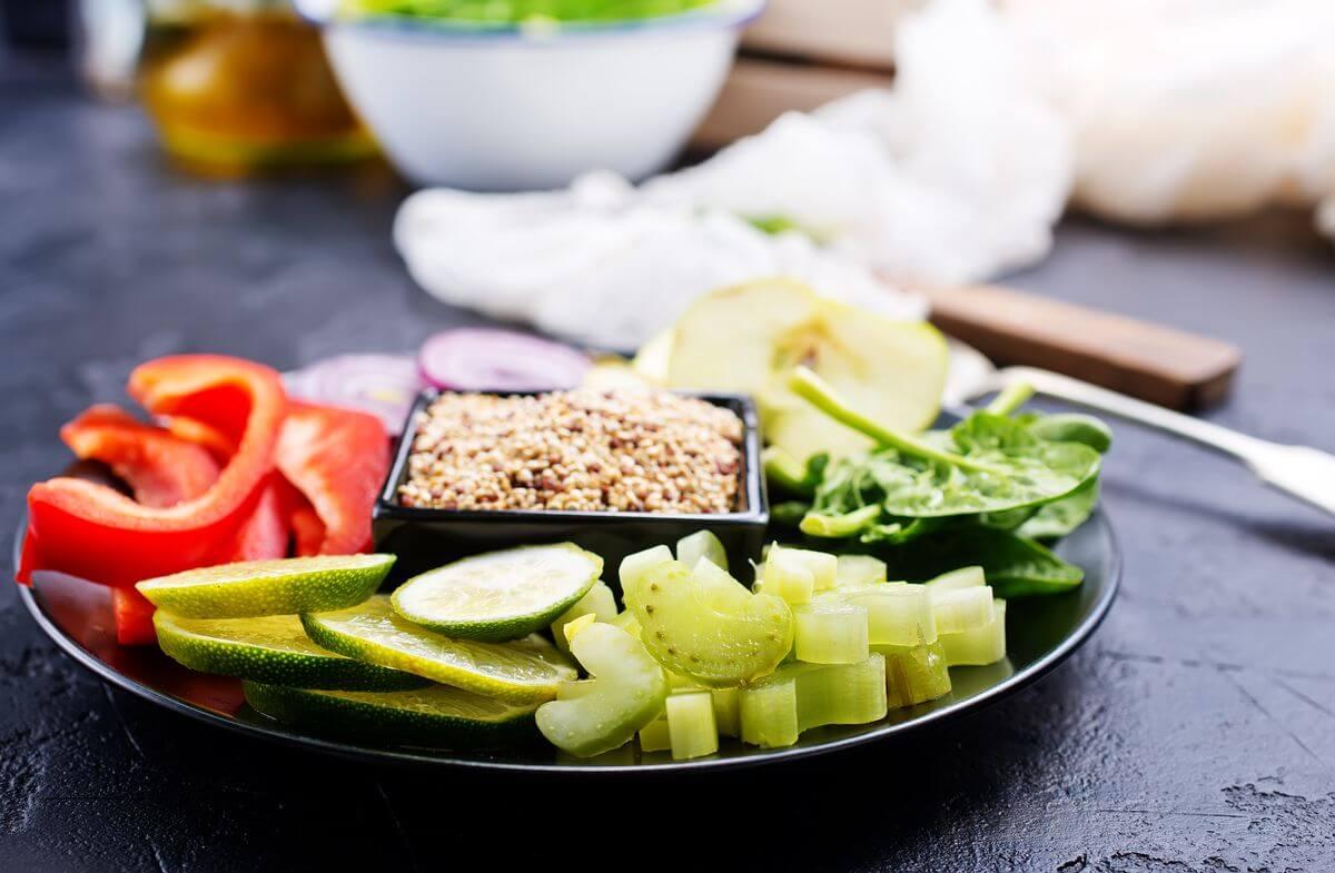 полосатая кефирная диета
