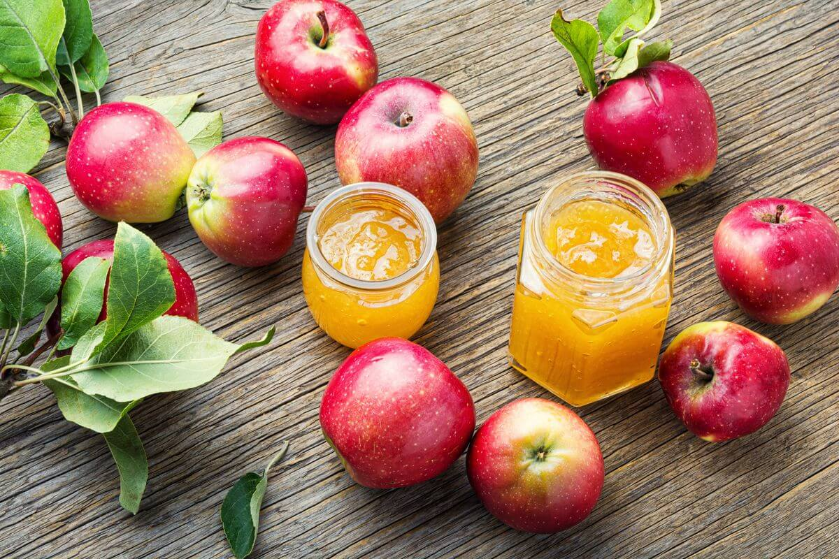 мармелад из яблок с желатином