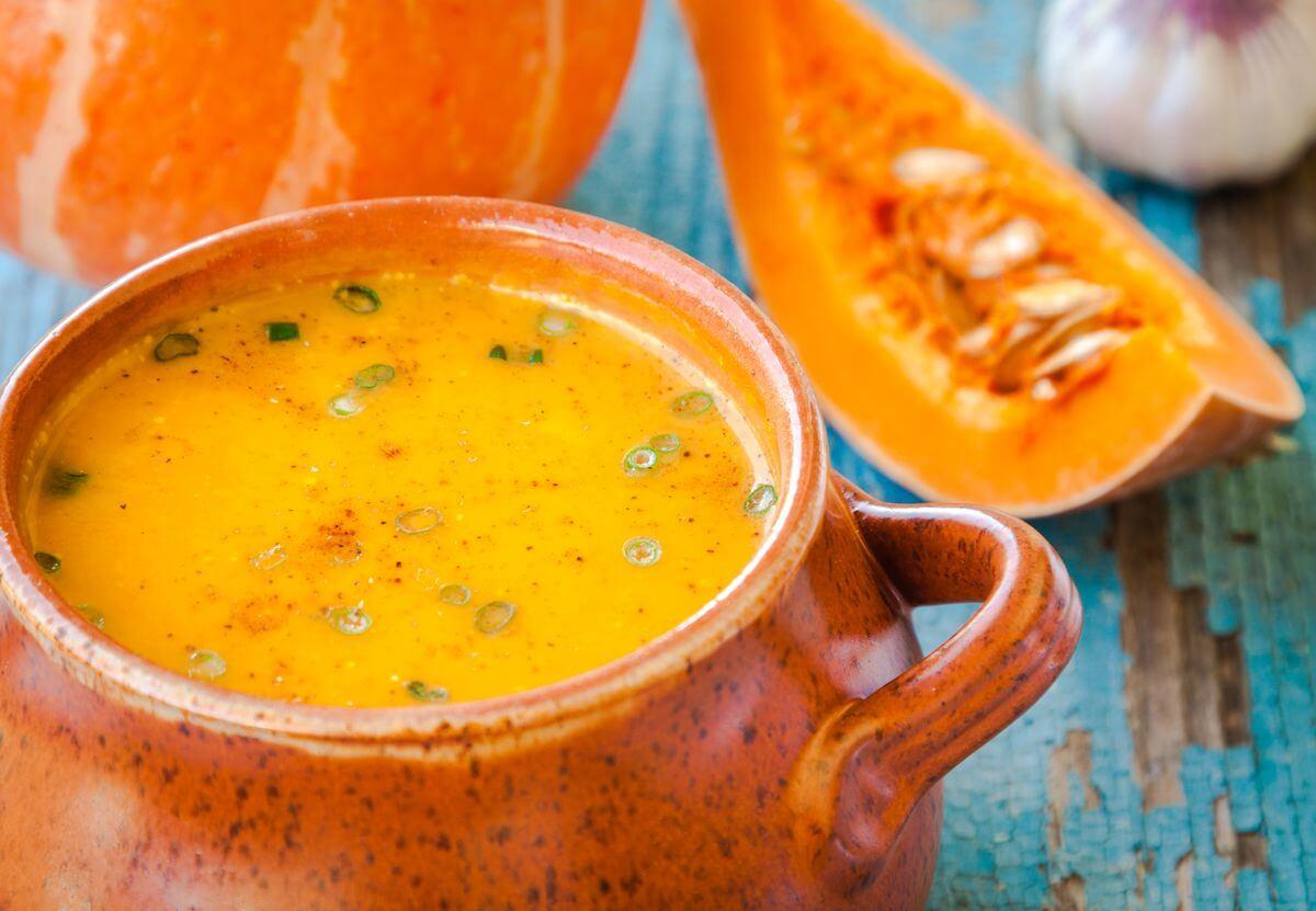 тыквенный суп для похудения рецепт