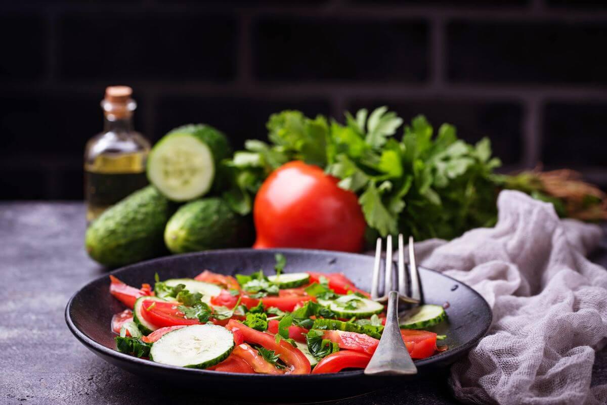 диета на помидорах меню