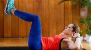 Делаем талию: 5 самых легких упражнений для плоского живота