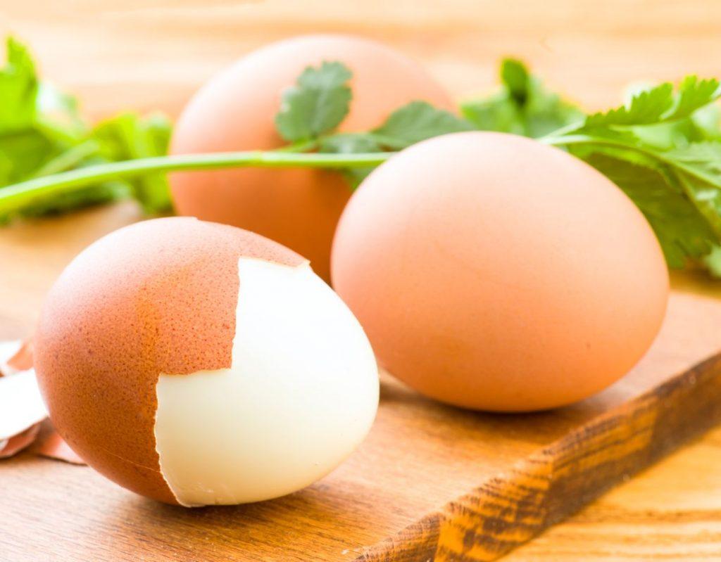 диета на вареных яйцах