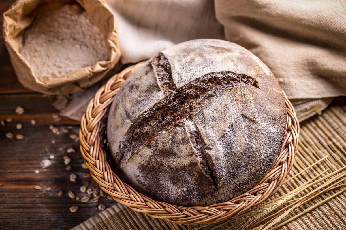 хлеб ржаной бездрожжевой рецет