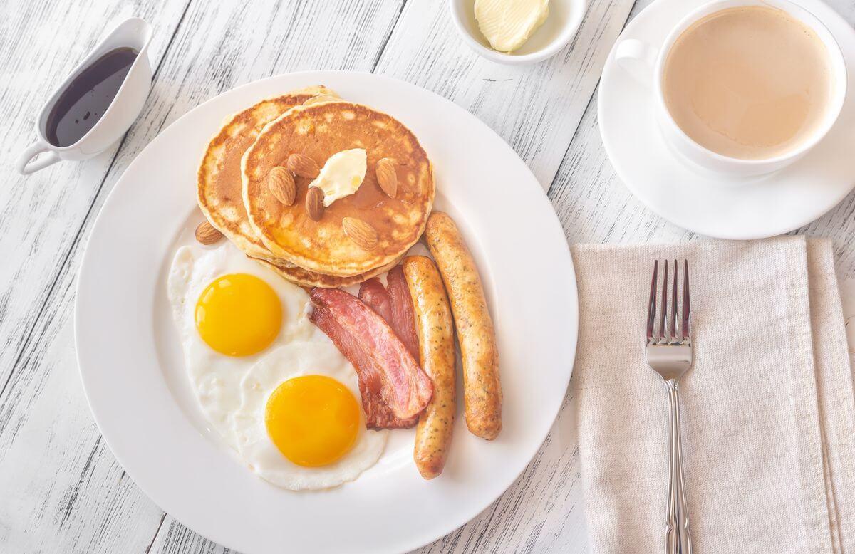 завтрак для худеющих