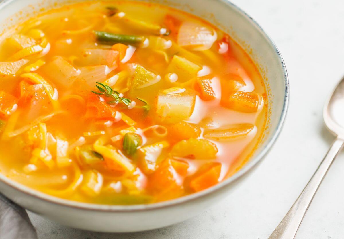 Диета На Супе Овощном. Диета на овощном супе с рецептами