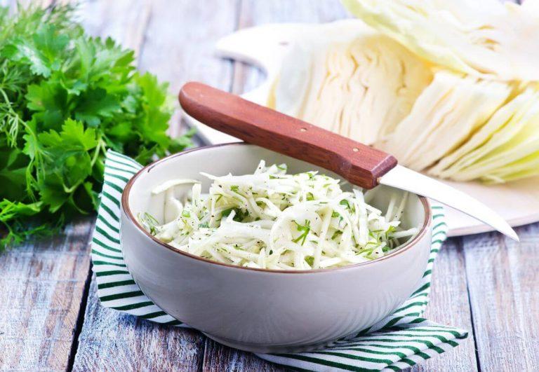Салат из капусты чтобы похудеть