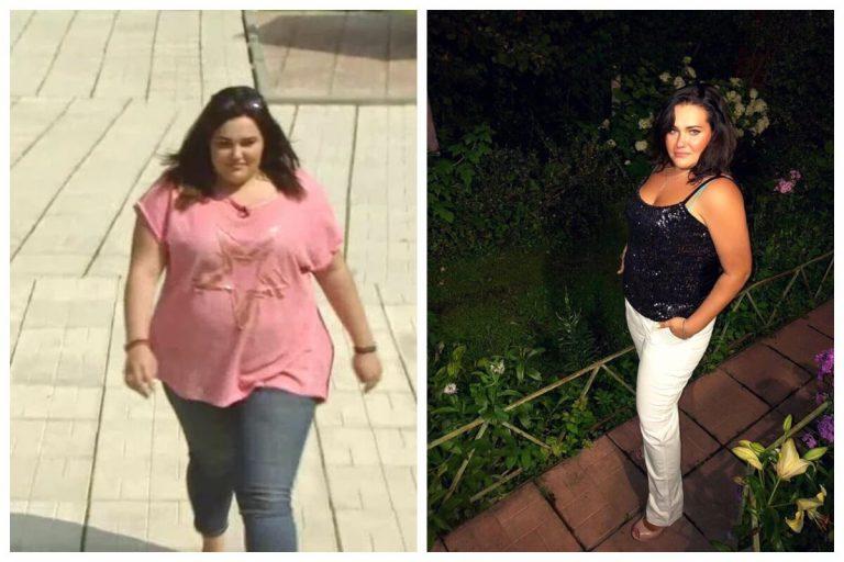 лиза пригожина до и после похудения