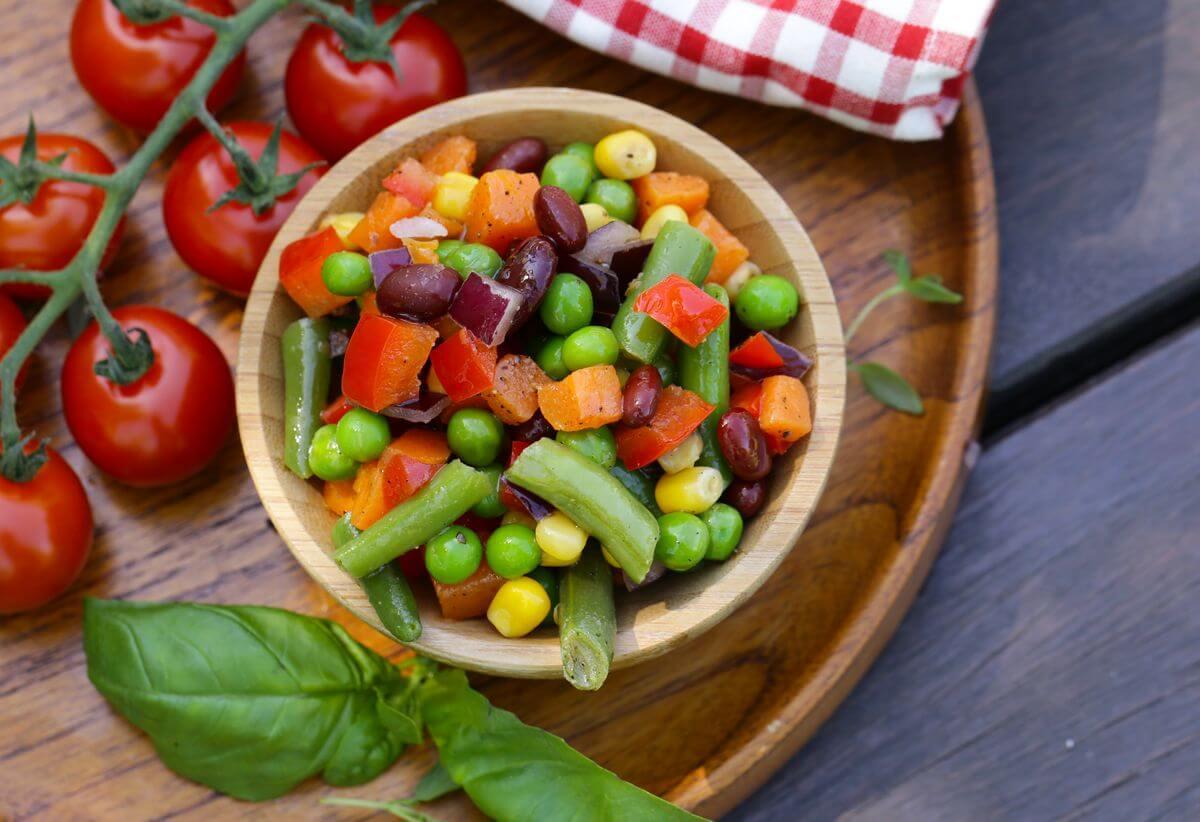 как есть больше овощей и фруктов