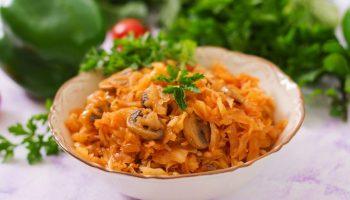 Бигос с грибами — вкусно и просто