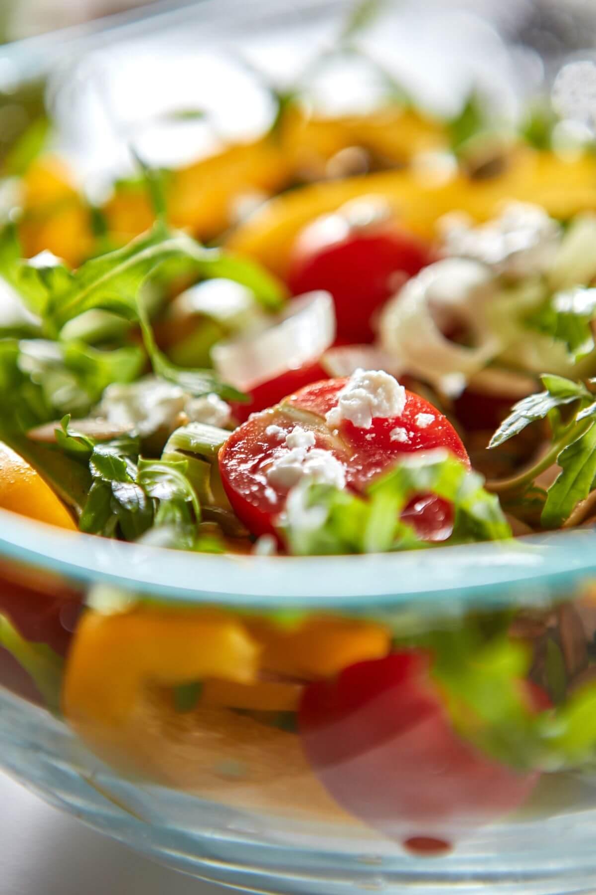 салат с брынзой рецепт