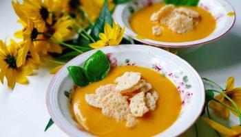 тыквенно картофельный суп