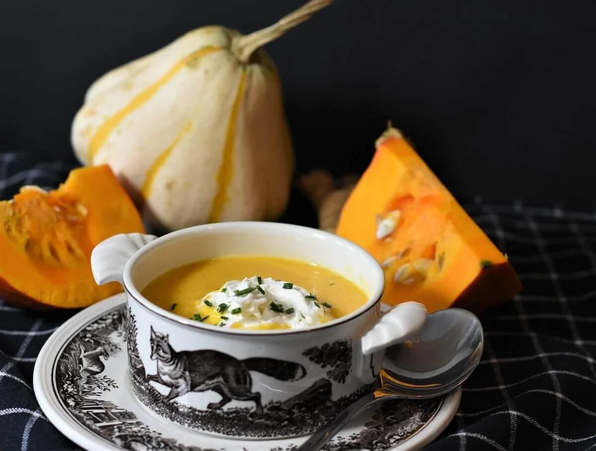 тыквенно картофельный суп рецепт