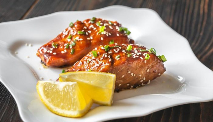 красная рыба по азиатски