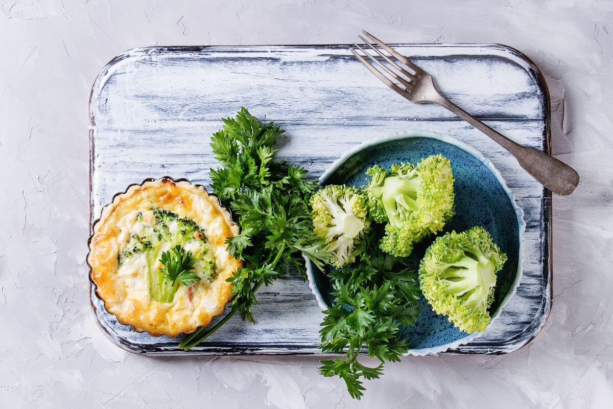 киш с брокколи рецепт