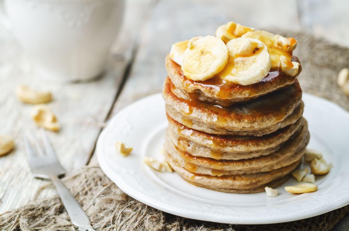 гречневые оладьи с бананом рецепт