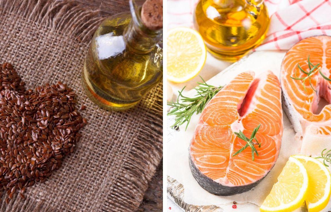рыбий жир и льняное масло