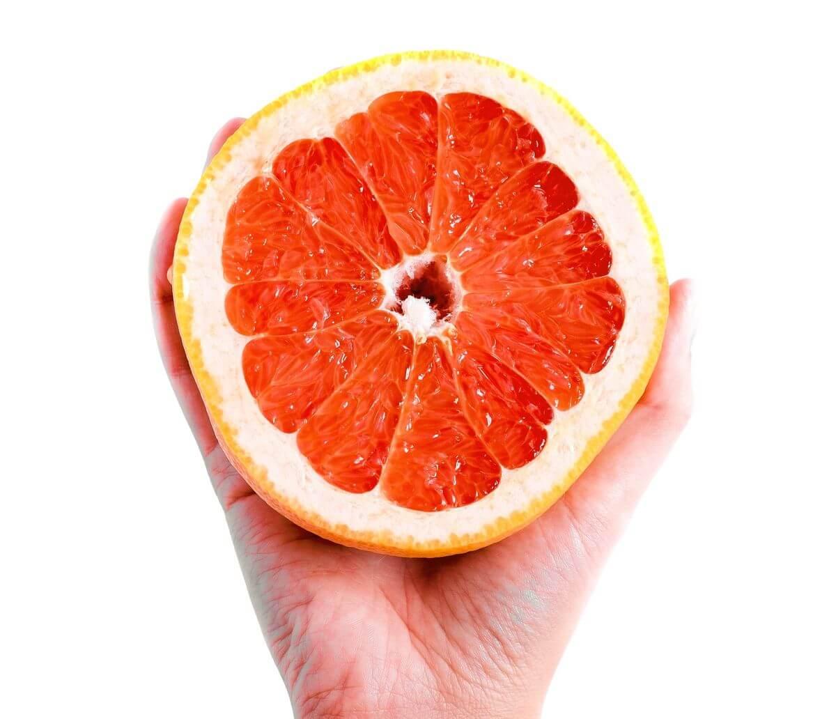 маска из грейпфрута