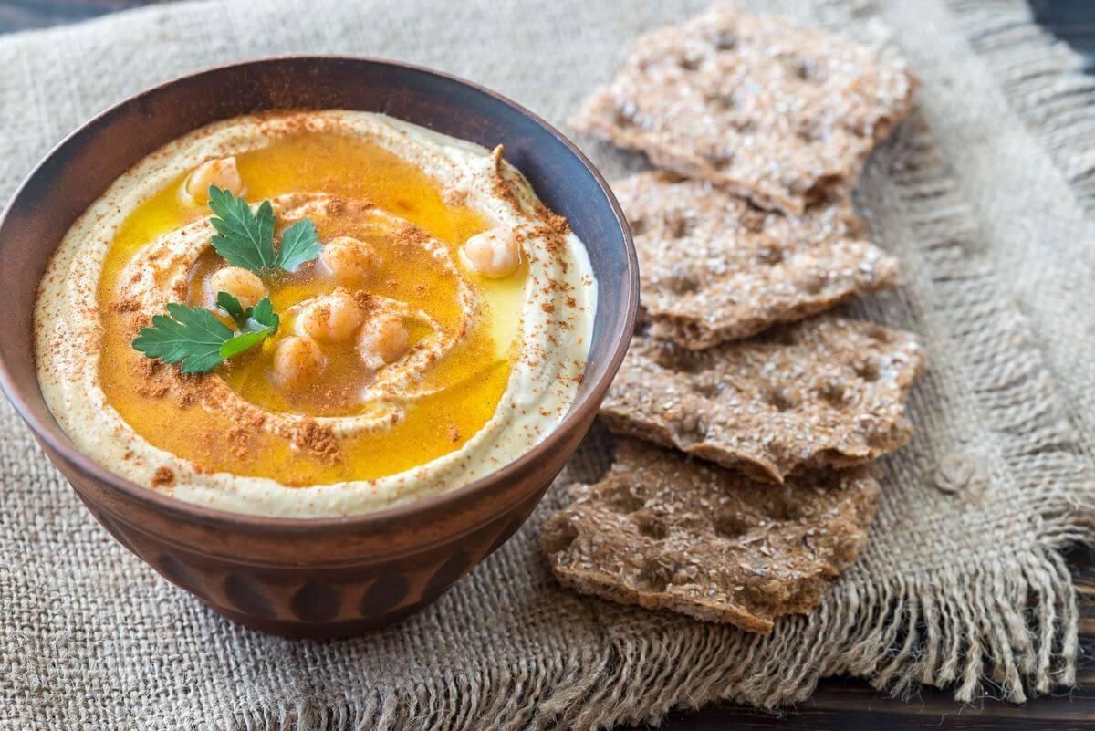 хумус домашний рецепт