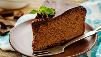 шоколадно банановый пирог без сахара