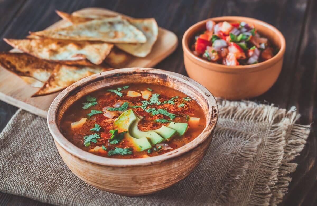 мексиканский суп рецепт