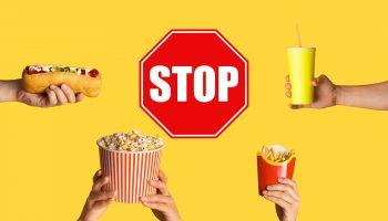 как отказаться от вредной пищи