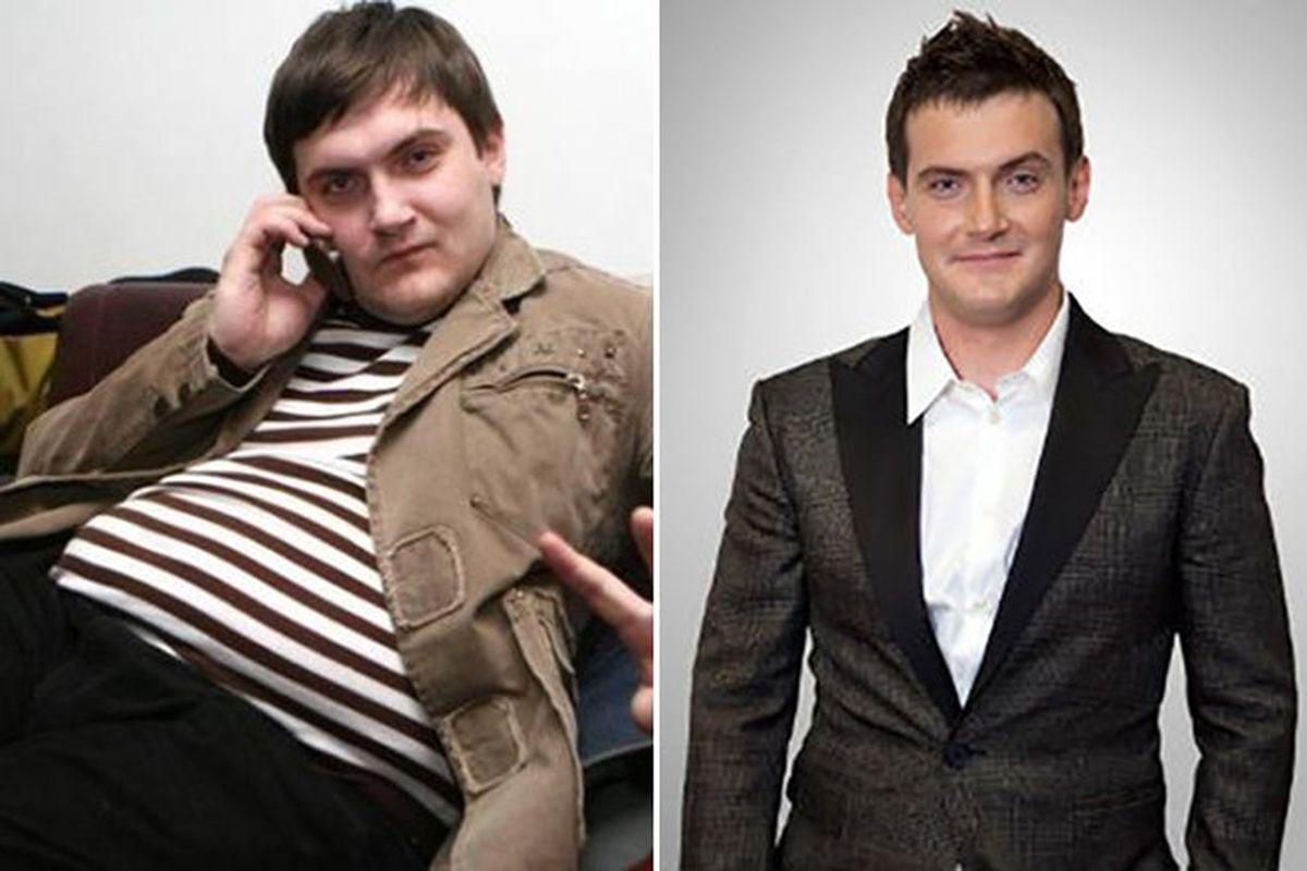 андрей аверин до и после похудения